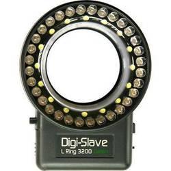 Digi-Slave L-Ring 3200 LED Ring Light (Green)