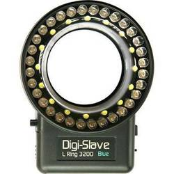 Digi-Slave L-Ring 3200 LED Ring Light (Blue)