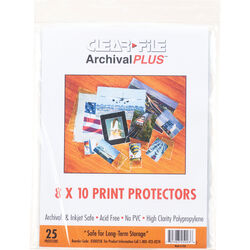 """ClearFile 8 x 10"""" Print Protector (25-Pack)"""
