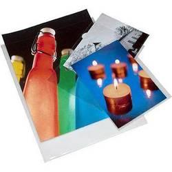 "Print File Polypropylene Presentation Pocket (10 x 15"", 100-Pack)"