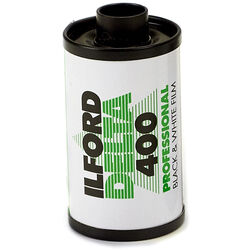 Ilford Delta 400 Professional Black and White Negative Film (35mm Roll Film, 24 Exposures)