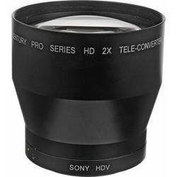 Century Precision Optics 0HD-20TC-SH6 2.0x Telephoto Converter Lens for Sony HVR-V1U and HDR FX7