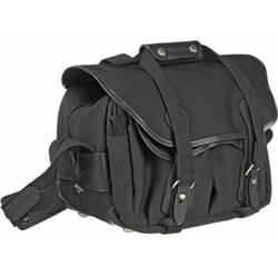 Billingham 225 Shoulder Bag (Black with Black Leather Trim)