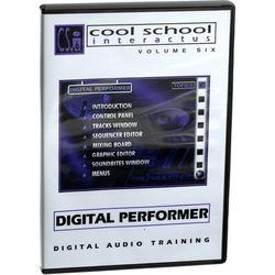 Cool Breeze CD Rom: CSi Vol.6 Interactive Learning CD-ROM - MOTU's Digital Performer