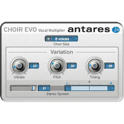 Antares Audio Technologies CHOIR Evo - Vocal Multiplier Plug-In (Download)