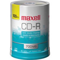 Maxell CD-R 700MB Disc (100)