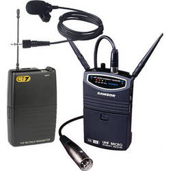 Samson UM1/77 Micro Diversity Wireless Lavalier Microphone System