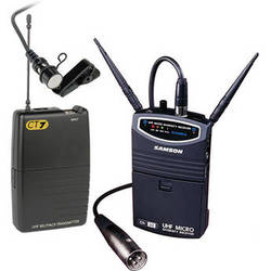 Samson UM1 Portable Wireless Lavalier Microphone System (Frequency N6- 645.750 MHz)