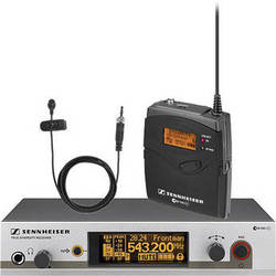 Sennheiser EW312 G3 Wireless Bodypack Microphone System with ME2 Lavalier Mic (G / 566 - 608 MHz)