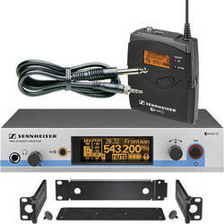 Sennheiser EW572 G3 Wireless Instrument System with Ci 1 Guitar Cable (G / 566 - 608MHz)