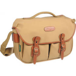 Billingham Hadley ProShoulder Bag (Khaki Canvas & Tan Leather)