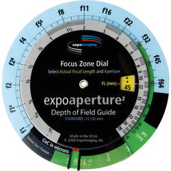 ExpoImaging ExpoAperture2 Depth-of-Field Guide - Educator Size (Imperial)