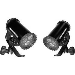 Nocturnal Lights SLX 800i Dual Video Light Package w/ Flex Arm Adapters