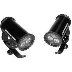 Nocturnal Lights SLX 800i Dual Video Light Package w/ Ball Joint Adapters