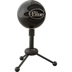 Blue Snowball USB Condenser Microphone with Accessory Pack (Gloss Black)