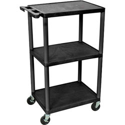"Advance PL2-42 Pixmate Cart with Electrical Assembly (42"" Height)"