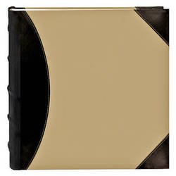 Pioneer Photo Albums 622500 High Capacity 500 Pocket Photo Album (Beige with Leatherette Trim)
