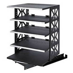 Raxxess ST-ROTR-42 Steel Rotating Rack System with 6 Shelves
