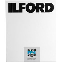 "Ilford FP4 Plus 4x5"" 25 Sheets Black & White Print Film (ISO-125)"