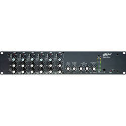 Ashly MX406 Six Channel Stereo Microphone Mixer