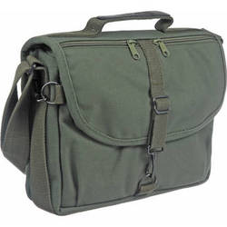 Domke F-802 Reporter's Satchel Shoulder Bag (Olive Drab)