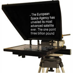 """Autocue/QTV Professional Series 17"""" Teleprompter"""