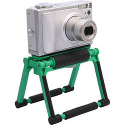 Gary Fong Flip Cage Tabletop Stand for Compact Cameras (Jade Green)