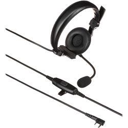 Kenwood KHS-7A Earmuff Headset, Boom Microphone with PTT