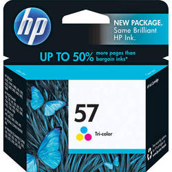 HP 57 Tri-Color Inkjet Print Cartridge (17ml)