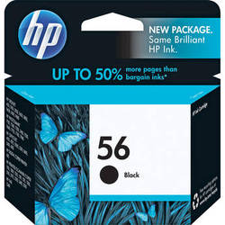HP 56 Black Inkjet Print Cartridge (19ml)