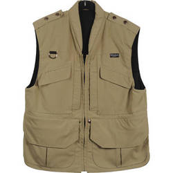 Billingham Medium Photo Vest (Stone)