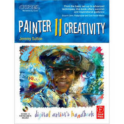 Focal Press Book/CD: Painter 11 Creativity by Jeremy Sutton