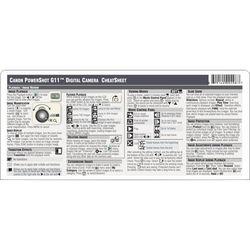 PhotoBert Cheat Sheet for the Canon Powershot G11 Digital Camera