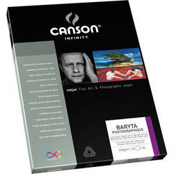 """Canson Infinity Baryta Photographique Paper (8.5 x 11"""", 10 Sheets)"""