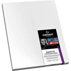 """Canson Infinity Baryta Photographique Paper (17 x 22"""", 25 Sheets)"""
