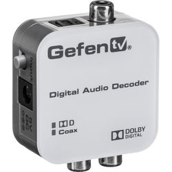 Gefen GTV-DD-2-AA GefenTV Digital Audio Decoder