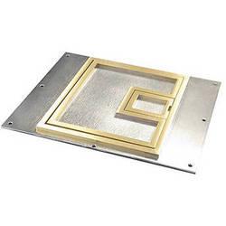 "FSR FL-700-BSQ-C 1/4"" Square Brass Flange (Lift Off Door)"
