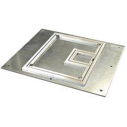 "FSR FL-700-SLP-C 1/4"" Beveled Aluminum Carpet Flange (Lift Off Door)"