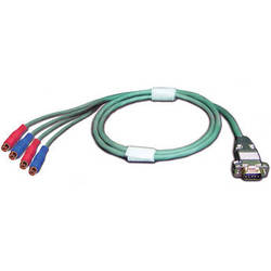 Meridian Technologies DB9M-RCA-4F/1  Cable 3.28' (1 m)