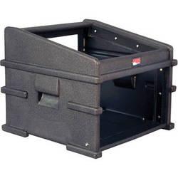 Gator Cases GDJ-10X6 Molded PE Slant Top DJ Console Rack Case