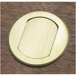 FSR T3-CAT5-BRS Table Box (Round Brass Cover)