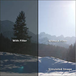 "Rosco VIEW Camera Filter (4 x 4"")"