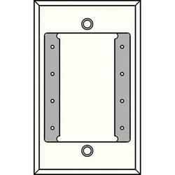 FSR IPS-WP1S-WHT 1 Gang Wall Plate (White)