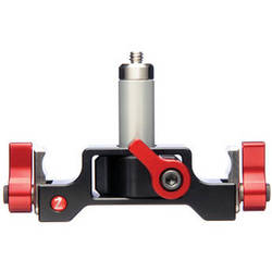 """Zacuto 1/4 20"""" Lens Support with 2.5"""" 15mm Lightweight Rods"""
