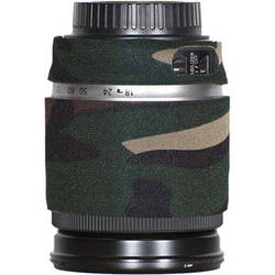 LensCoat Lens Cover for Canon 18-200mm Lens (Forest Green Camo)