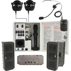 Califone PA-IRSYSB Installed Infrared Audio System