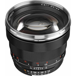 Zeiss Planar T* 85mm f/1.4 ZF.2 Lens for Nikon F-Mount Cameras