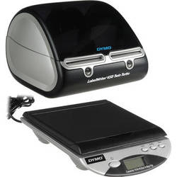 Dymo Desktop Mailing Solution Twin Turbo LabelWriter & Scale (Black & Silver)