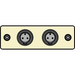 FSR IPS-A620S-IVO  IPS Audio Insert (Ivory)