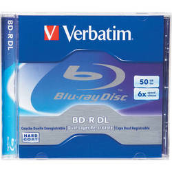 Verbatim 50GB 6x Blu-ray Disc (Jewel Case)